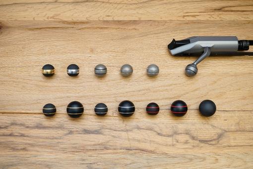 Jakele Kammergriffkugel für R8 / R93 - M6 x 1